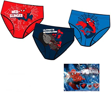 Pack de 3 slip de Spiderman: Amazon.es: Juguetes y juegos