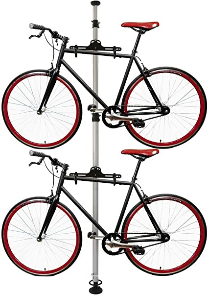 Cablematic - Caballete para aparcar dos bicicletas colgadas con ...