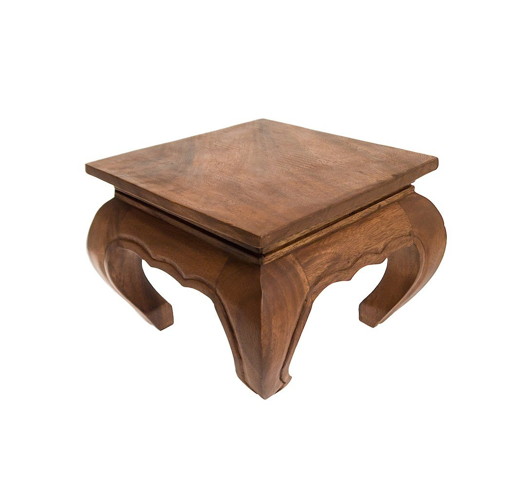 ROMBOL Tisch, groß, niedrig, Beistelltisch Holz