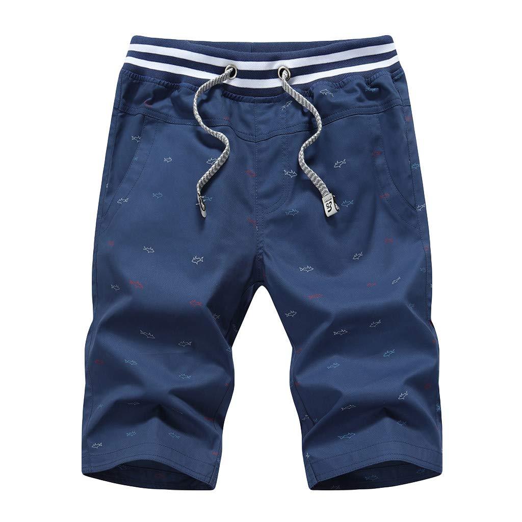 Homme Cargo Capri Short Sacs travail pantalon été bermuda