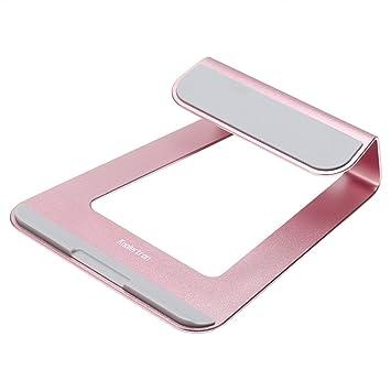 Koolertron - Soporte para portátil de aluminio para Apple MacBook Air MacBook Pro y todos los demás ordenadores portátiles (Negro): Amazon.es: Electrónica