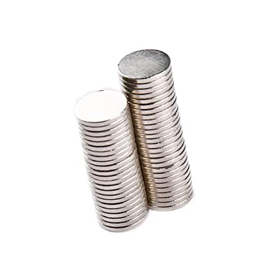 Hobbies Yizhet 50 Pcs Neodymium Strong Magnets Cylinder Neodymium Magnet 8mm dia x 1mm thick for Arts Home and Office Crafts
