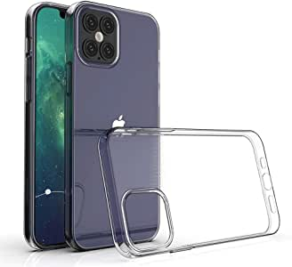 """Clear Cover Case For iPhone 12/12 Pro (6.1"""" Iphone 12/12 Pro)"""