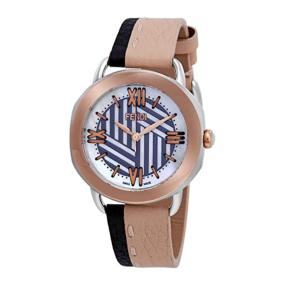 05f6eaea2dac Fendi Selleria Mother of Pearl Dial Ladies Watch F8112365H0-BKPK   Amazon.ca  Watches