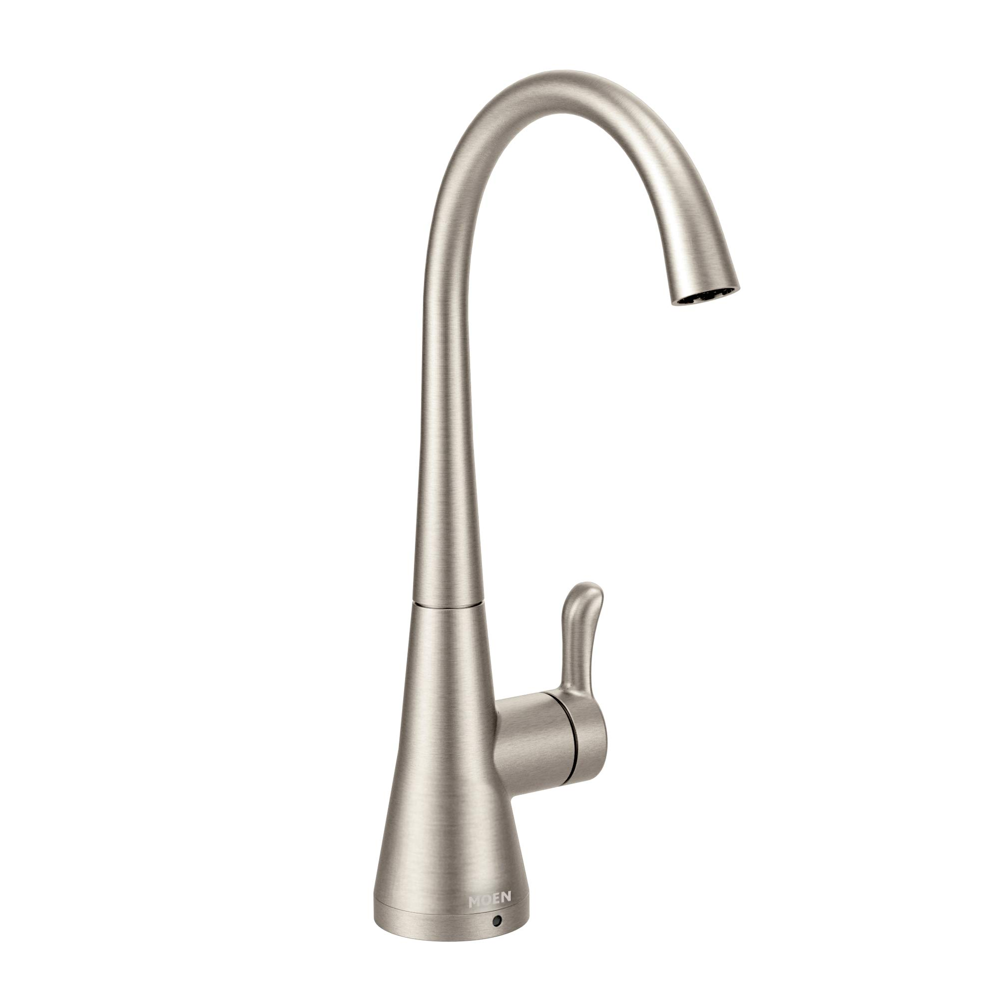 Moen S5520SRS Sip Transitional Cold Water Kitchen Beverage Faucet with Optional Filtration System, Spot Resist Stainless by Moen