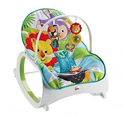 3054a716d Fisher-Price FMN39 Infant-to-Toddler Rocker