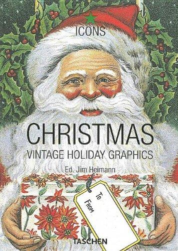 Christmas Vintage Holiday Graphics Icons