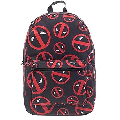 Bioworld Deadpool Logo Print Backpack