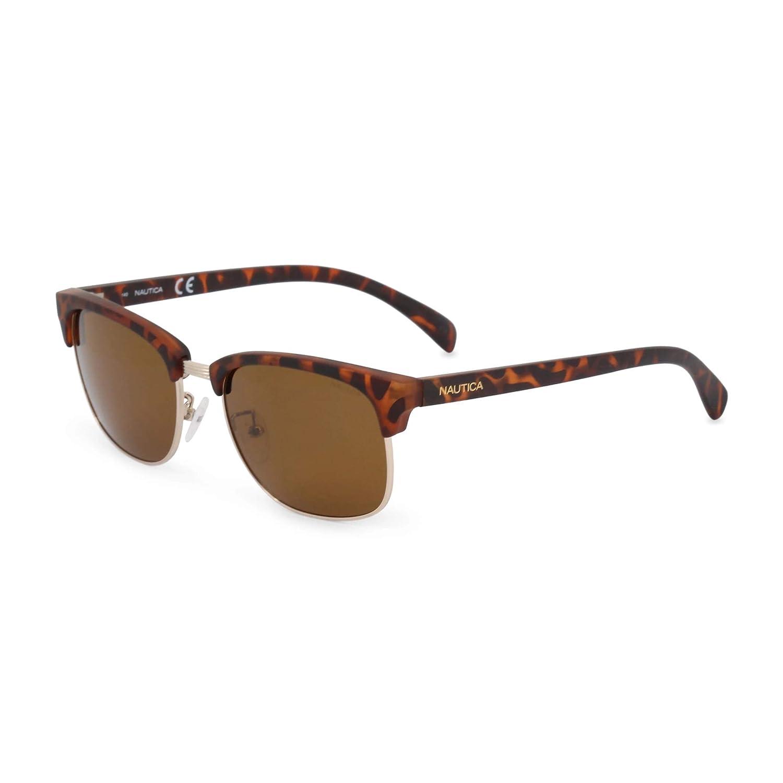 Nautica N3610Sp 717 53 Gafas de sol, Shiny Gold, Hombre ...