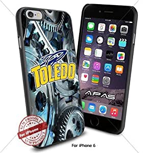 Toledo Rockets NCAA ,Cool Iphone 6 Smartphone Case Cover Collector iphone TPU Rubber Case Black color [ Original by WorldPhoneCase Oly ]