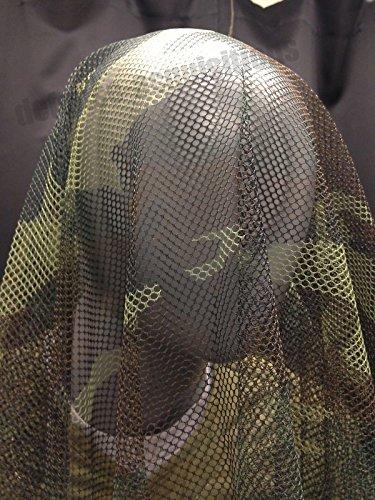 NEW GI FULL BODY HONEYCOMB SNIPER VEIL WOODLAND CAMOUFLAGE NETTING 5' X - Woodlands Mall