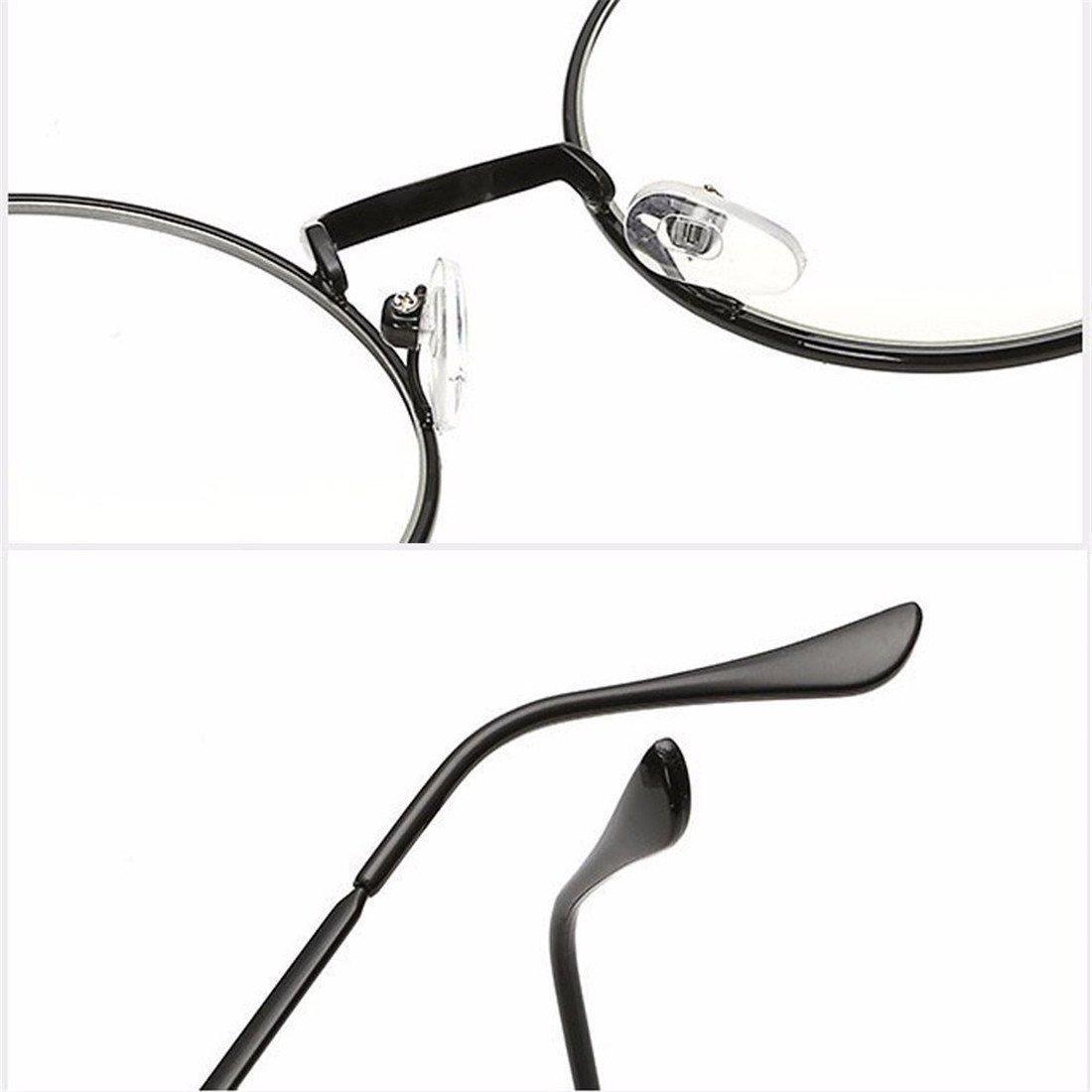 VWH Retro Runde Brille Mit Fensterglas Damen Herren Brillenfassung 4ec3c6a112