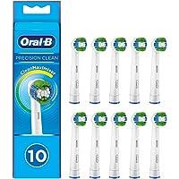 Oral-B Końcówki do szczoteczki Precision Clean z włosiem CleanMaximiser do optymalnego czyszczenia, 10 sztuk