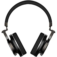 Fone Bluetooth Bluedio T3 (Turbine 3rd) Wireless Bluetooth 4.1 Stereo Extra Bass Bluetooth Headphones On Ear com Microfone, 57mm Driver Wireless Headset (Preto)