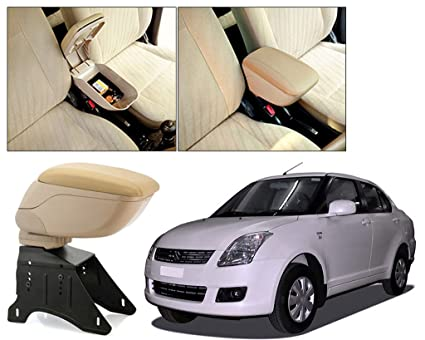 Auto Pearl Beige Armrest Console Box for - Swift Dzire Type-1: Amazon.in:  Car & Motorbike