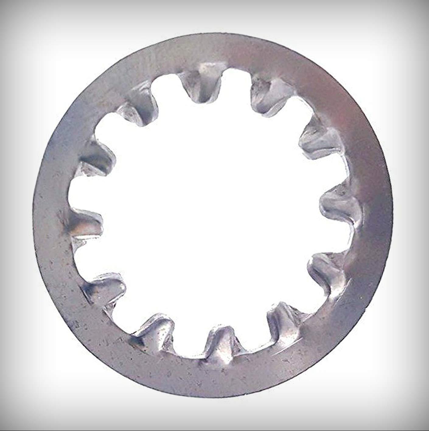 """neu Menge von 2500 Pcs 1/2"""" Star Lock Washers Internal Tooth 410 Stainless Steel Satz #Lig-2841Ng Warranity durch Pr-Mch"""