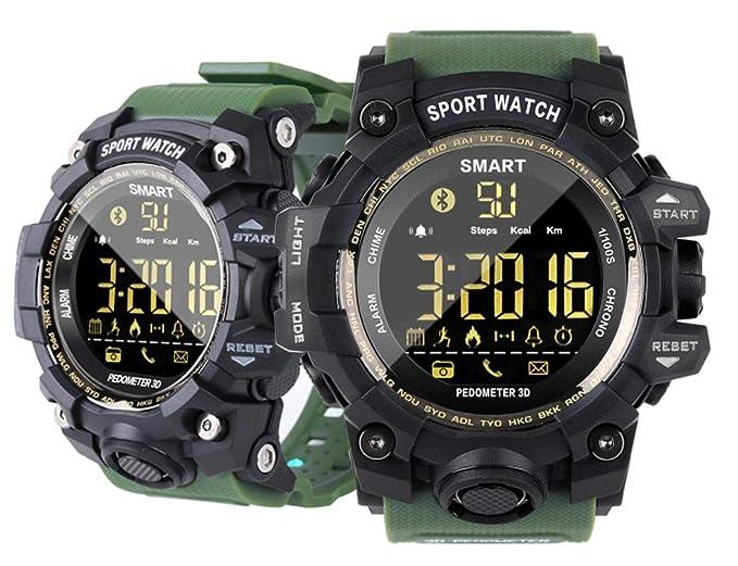 Amazon.com: Outdoor Sports Smart Watch,50M Waterproof ...