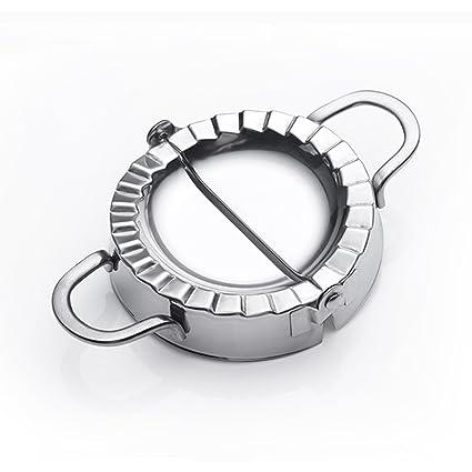 Best Utensils - Molde de acero inoxidable molde para hacer raviolis y empanadillas pierogi, envoltorio para repostería, accesorios cortadores de ...