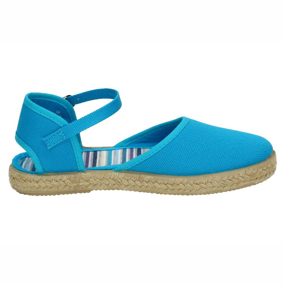 MADE IN SPAIN 050 Alpargatas Azules NIÑA Sandalias Turquesa 27: Amazon.es: Zapatos y complementos