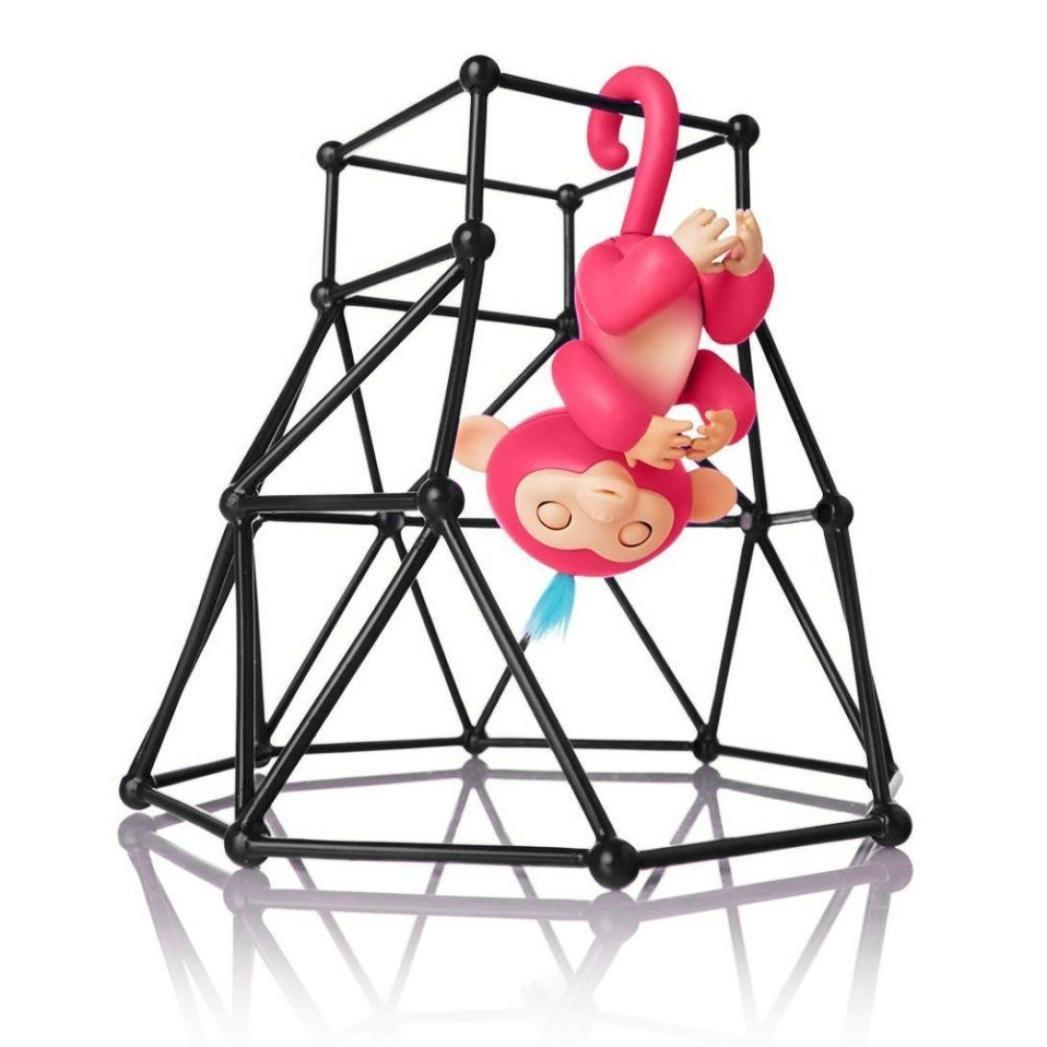 Juego interactivo para mono bebé, de Y56; accesorio de gimnasia, puzzle interactivo, columpio, escalada, con funda de transporte, C 5656YAO