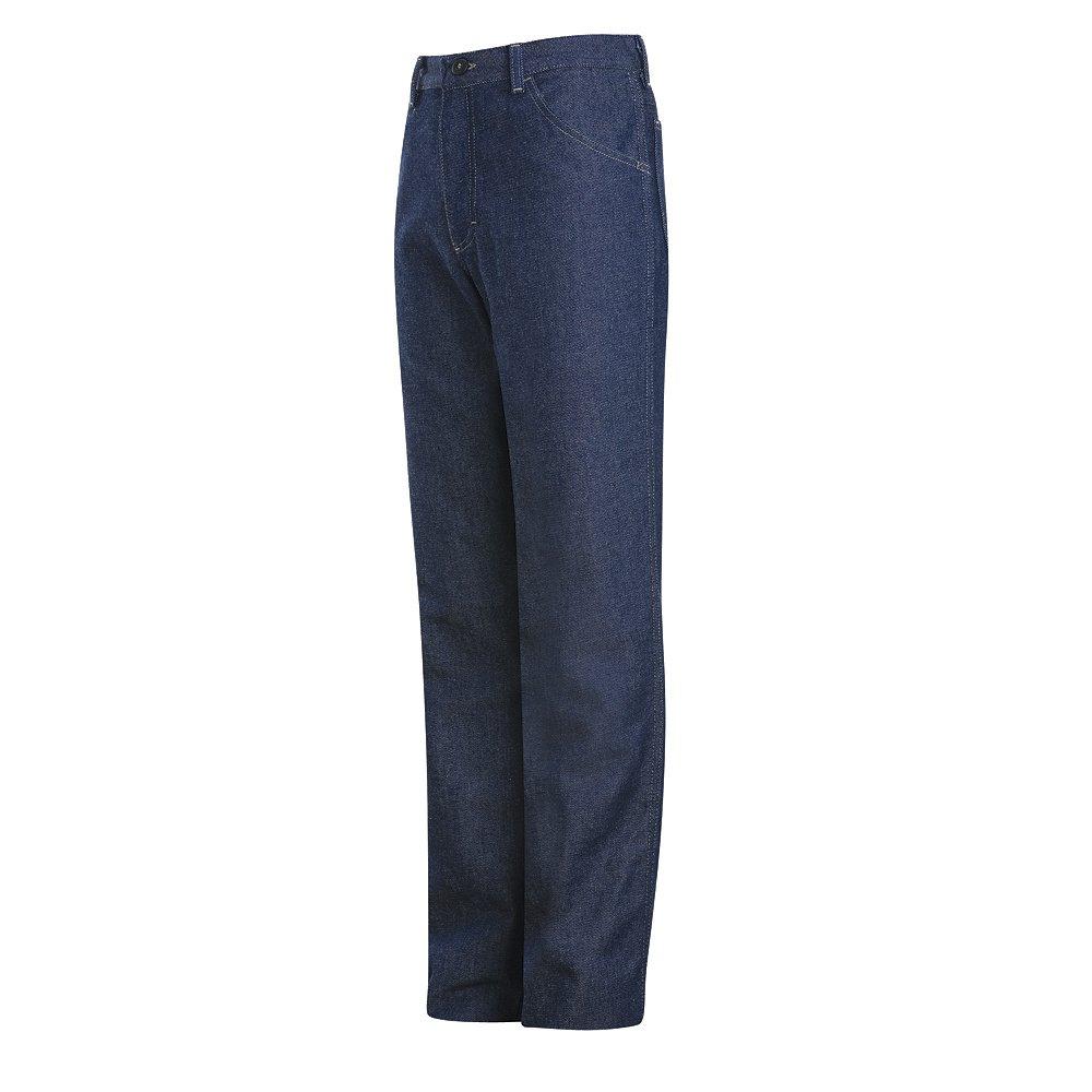 Bulwark Mens PEJ4DW Denim Jean 35 x 24 Blue Denim
