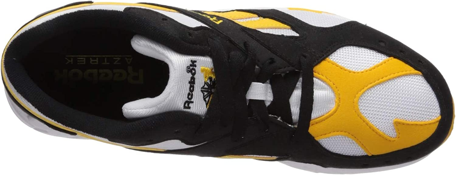 Reebok Damen Aztrek Turnschuh Black Fierce Gold White