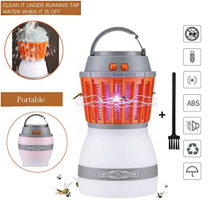 Anti-mosquito Lamp Mosquito Repellent 2019 Usb Pest Control Mosquito Killer Night Light Insect Home Decoration Outdoor Fly Garden Supplies