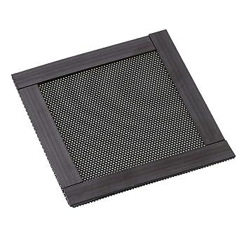 RDEXP 8 x 8 x 0,05 cm plástico Negro magnético Ventilador de ...