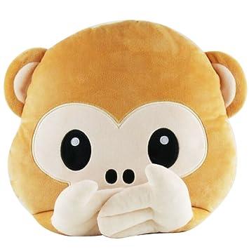 Soft Toys Dog Puppy Emoji Pillow Smiley Emoticon Cushion Stuffed