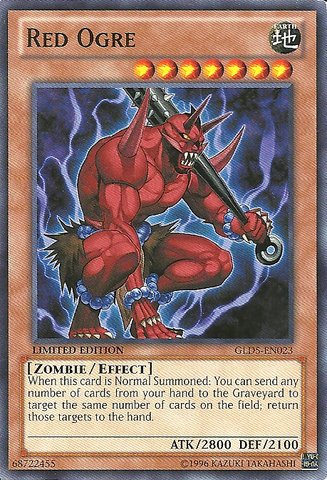 Yu-Gi-Oh! - Red Ogre (GLD5-EN023) - Gold Series: Haunted Mine - Limited Edition - Common