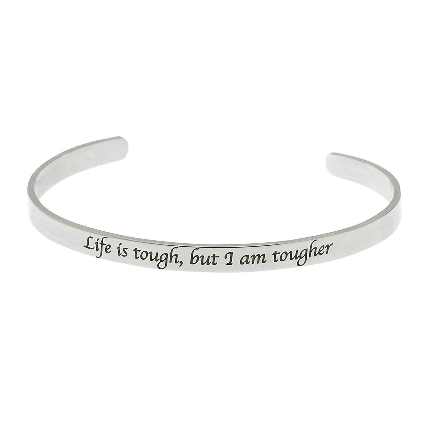 make inspirational bracelet healthy multiple cuff colors choices