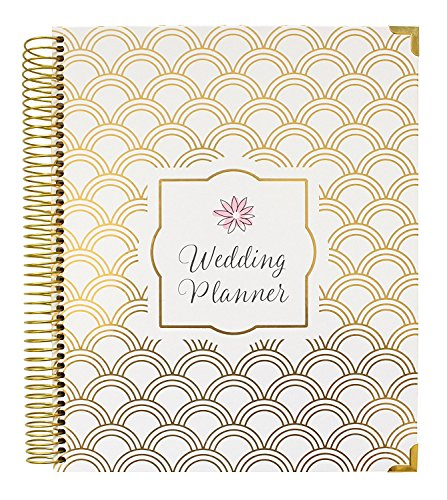 bloom daily planners Undated Wedding Planner - Hard Cover Wedding Day Planner & Organizer - 9