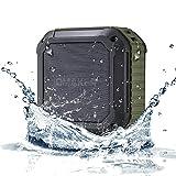 OmakerM4 bluetooth スピーカーBluetooth4.0+EDR 小型なワイヤレススピーカー お風呂にも使える防水スピーカー ハンズフリーとNFC対応なUSBスピーカー iPhone/iPhone6/iPhone6plus/iPhone5s/iPad/ipod/スマホ対応なポータブルスピーカー(オリーブグリーン) (オリーブグリーン) [並行輸入品]