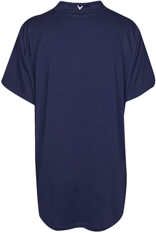 Callaway Womens Short Sleeve Tropical Print Top