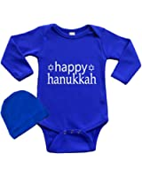 Infant Bodysuit Set -Happy Hanukkah
