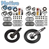 Motive Gear Performance Differential MGK-107 Motive Gear-Differential Complete Ring and Pinion Kit-Jeep JK Rubicon-Front and Rear Differential Ring and Pinon Front and Rear Complete Kit