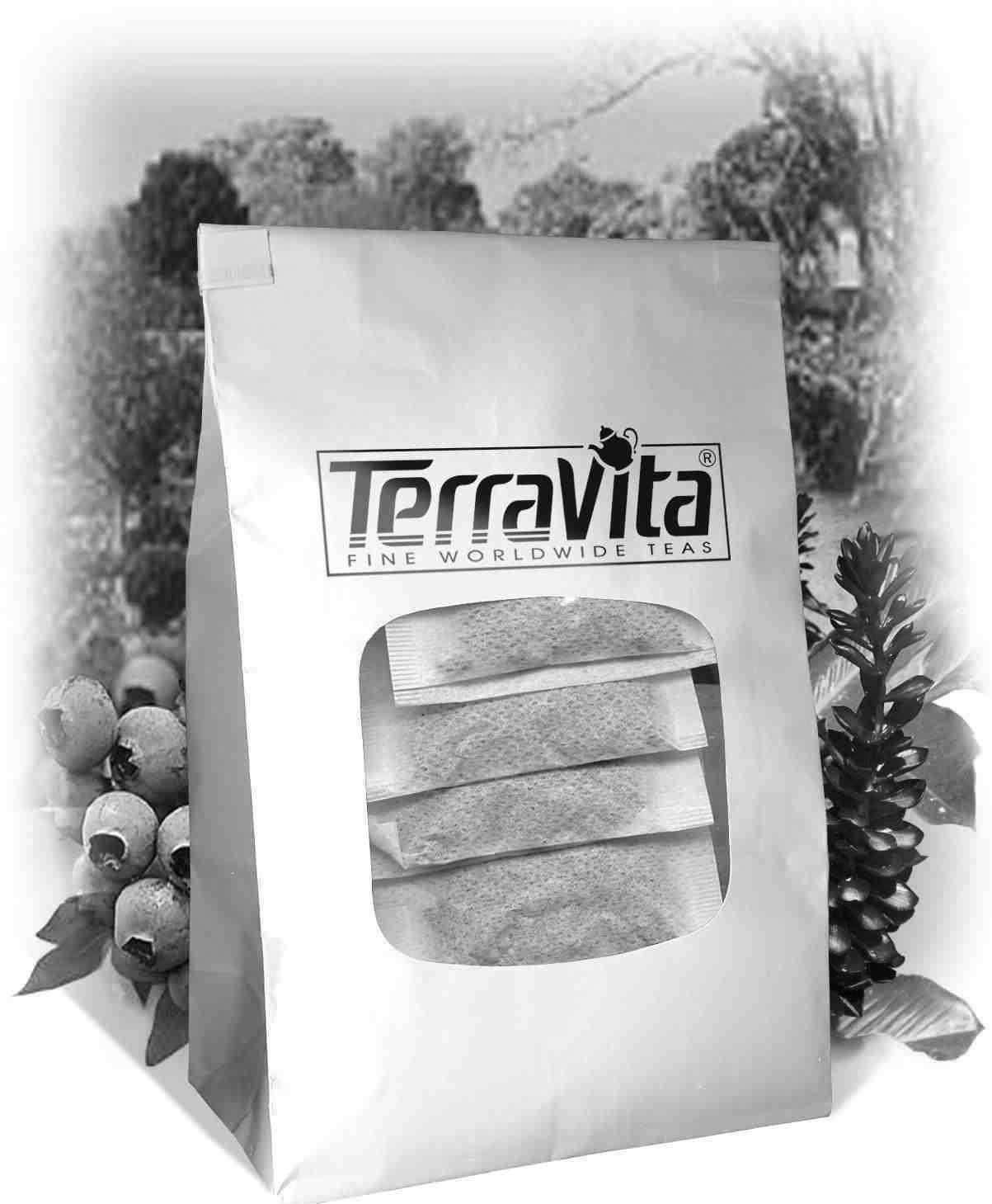Bourbon Street Vanilla Rooibos Tea (50 Tea Bags, ZIN: 510526) by TerraVita