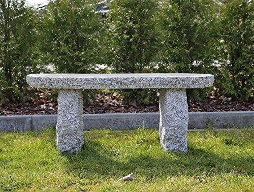 Gartenbank aus Granit GB4 Bank Granitbank Aussenbank Steinbank polierte Sitzfläche