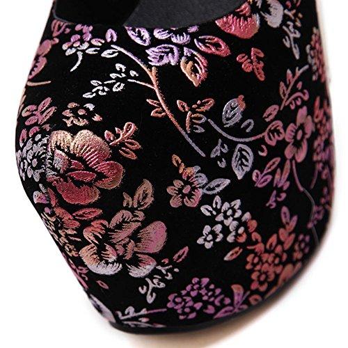 16 A Femme Fine Dress Waterproof Chaussures Table Flower Dance DiscothèQue 45wwHCq