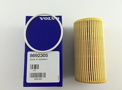 Amazon Com Genuine Volvo 8692305 Engine Oil Filter Includes Drain