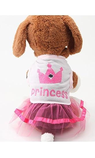 Buy Alroman Dog Pet Dresses Doggie Skirt Princess Dog Clothes Dog