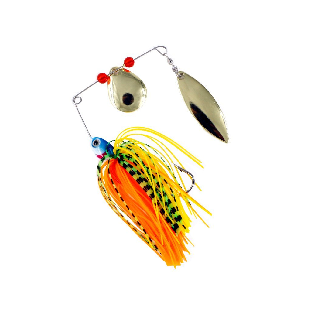 Threemart Mini-King Fishing Hard Spinner Lure Spinnerbait Pike Bass 16.3g/17g