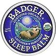 Badger Sleep Balm 2 oz Tin - Lavender and Bergamot