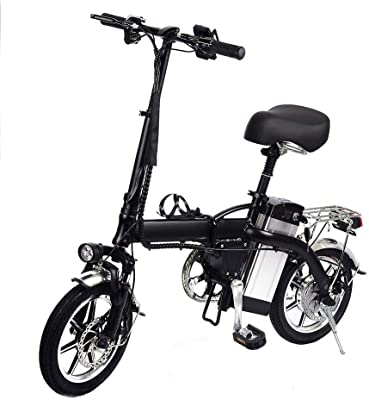 Jannyshop Folding Electric Bike