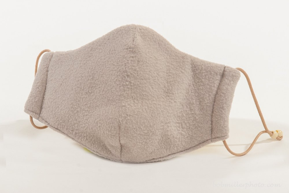 Healthy Air Mask® M11 Cold Weather Protective Face Mask - Natural Fleece