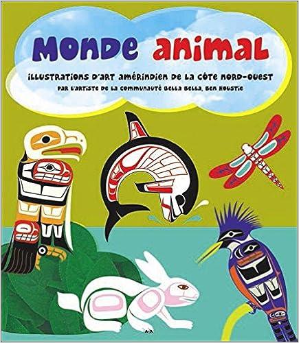 Read Monde animal - Illustrations d'art amérindien de la côte nord-ouest epub pdf