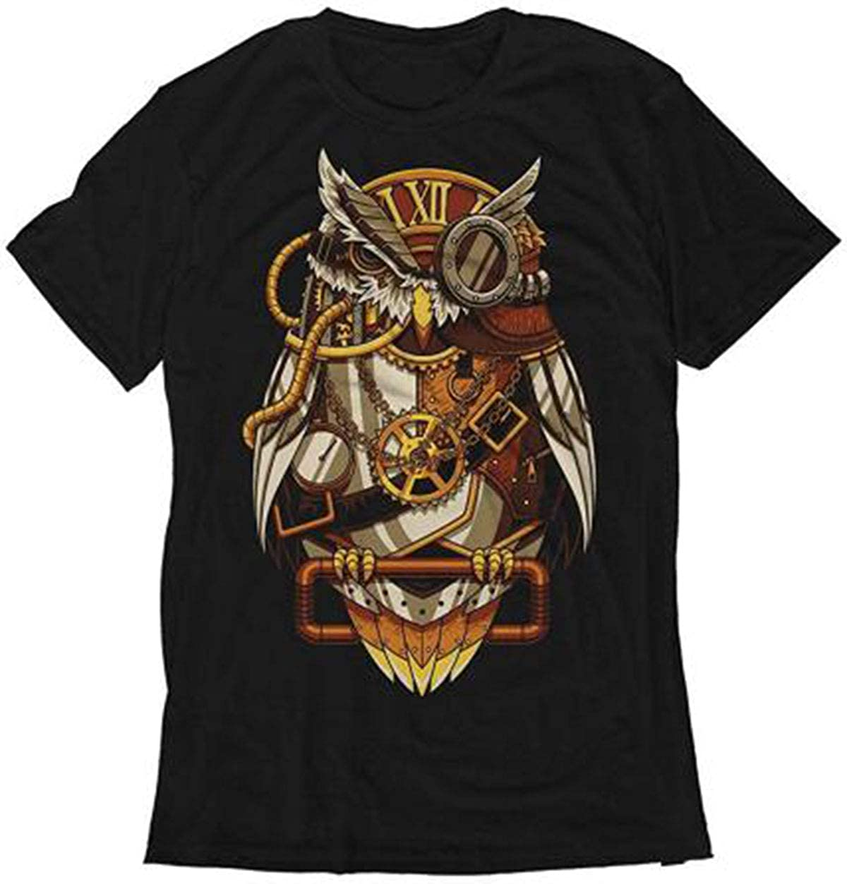 graceful shop Mens Casual Short Sleeve Graphic Tee Shirts