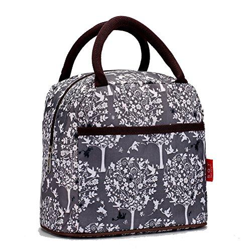 Fashion Lunch bags Cosmetic Bag For Women Girls Tote Handbag - Tree