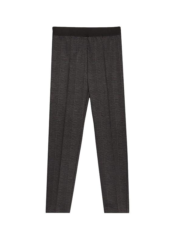 Oltre Italian Size Pantaloni Jegging Fantasia Check