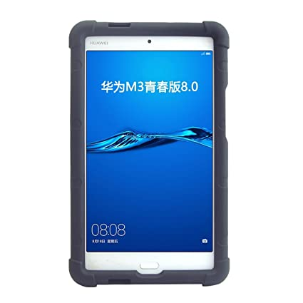 the best attitude 556e6 89da4 Huawei Mediapad M3 Lite 8 Tablet Case Model CPN-W09 CPN-L09 - MingShore  Customized Silicone Rugged Case for Huawei M3 Lite 8.0 Inch Tablet  Shockproof ...